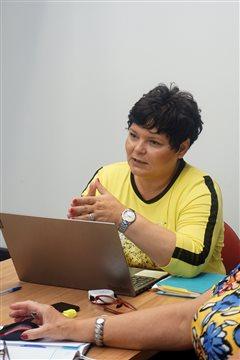 Primátorka Terézia Kavuliaková