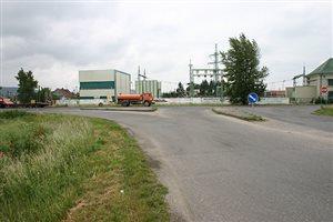 Cesta od Novopoldu na čerpaciu stanicu