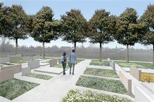 Nová sekcia na cintoríne