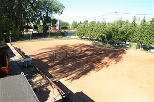 Areál tenisových ihrísk
